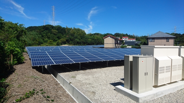 御前崎市M工業 様 太陽光発電設備工事2