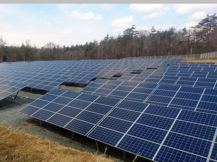 岩手県一関市  太陽光発電設備工事1