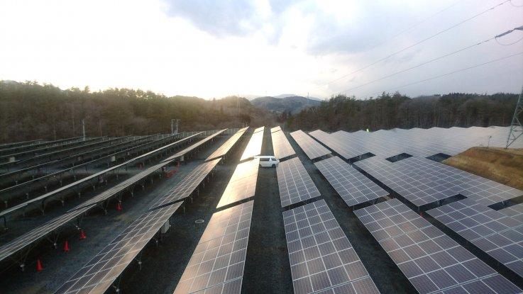 岩手県一関市  太陽光発電設備工事2