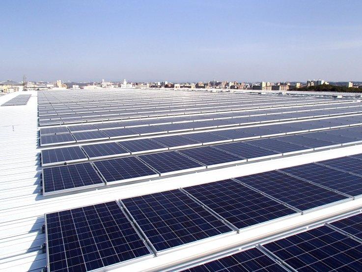 名古屋市加福町 様 太陽光発電設備工事 1