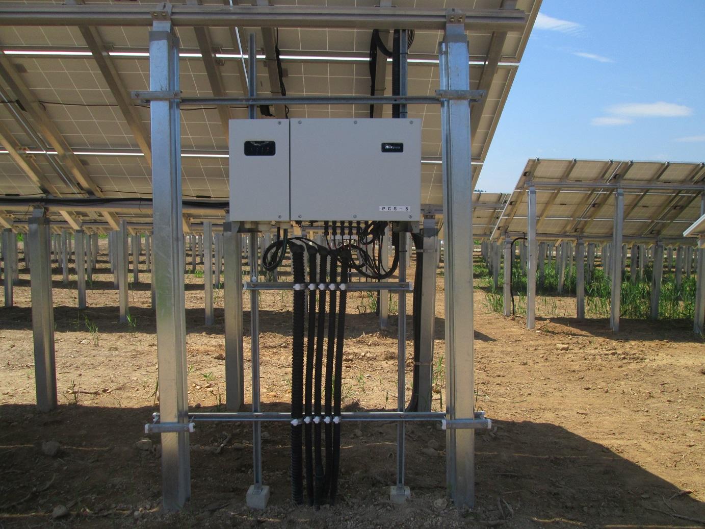 山形最上太陽光発電設備設置工事3