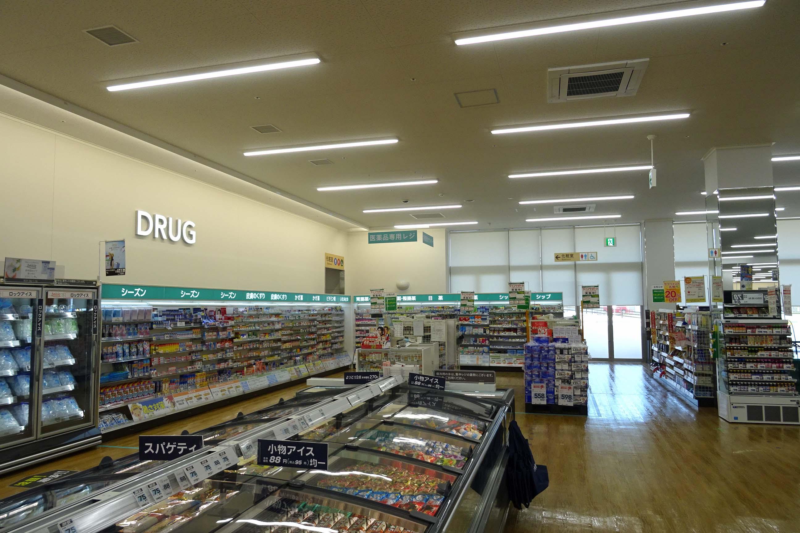 B食料品スーパー様 電気設備工事4