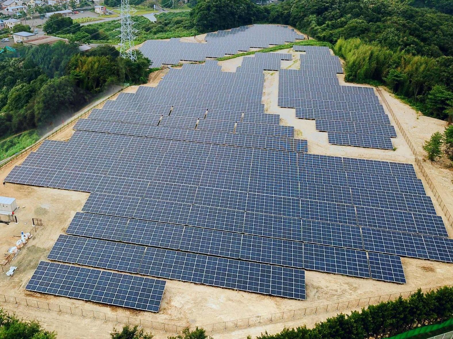 福島県いわき市 太陽光発電設備設置工事